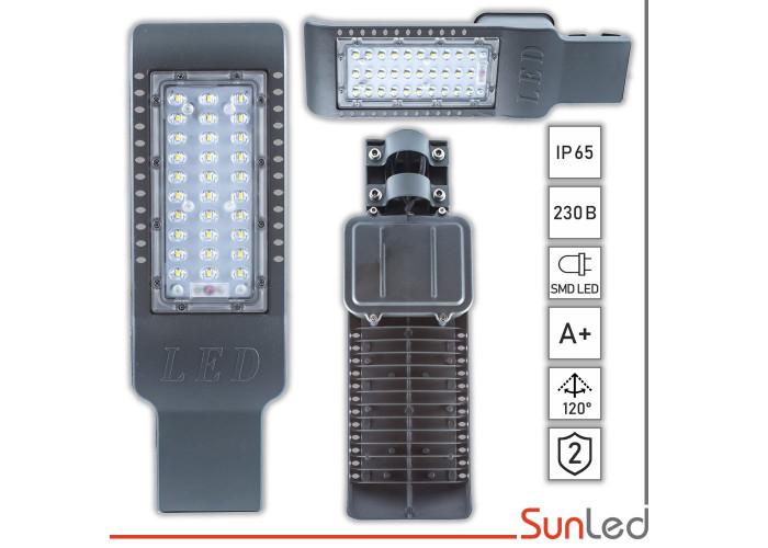LED фонарь уличный SMD 30 Вт