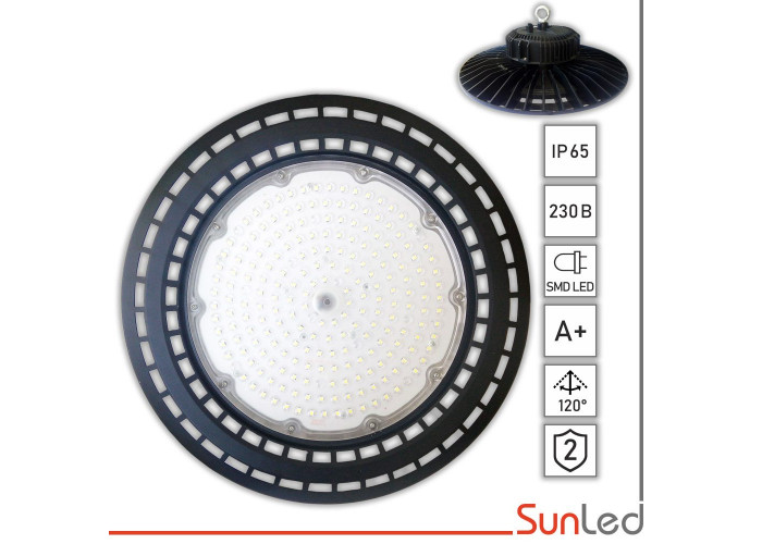 Промышленный  LED светильник IP65 200 ВТ