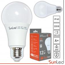 LED лампа 12w E27 A60 SMD диоды