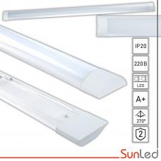 Линейный светодиодный светильник 18Вт 6000K ММ 600mm SUNLED