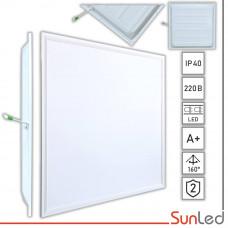 LED панель 42W подвесная потолочная 600x600