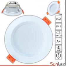 LED точечный встраиваемый 6Вт светильник