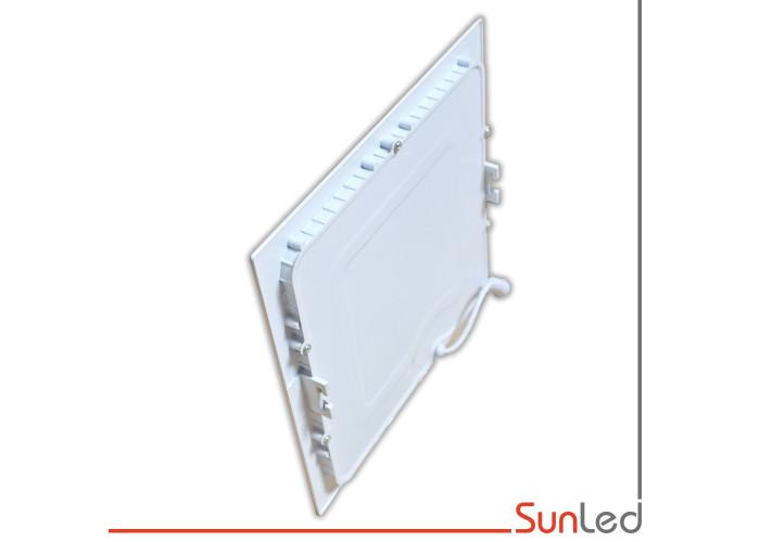 Светодиодный светильник встраиваемый 18W 6000K квадрат SUNLED