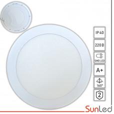 Врезная панель 15w c ярким свечением светодиодов SUNLED