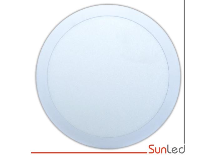 Светодиодная накладная потолочная панель 18w 6000K SUNLED