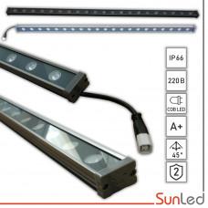 Фасадный линейный прожектор для подсветки 24Вт