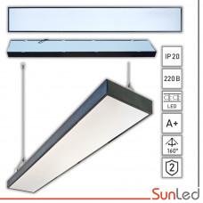 Подвесной линейный LED светильник 48W