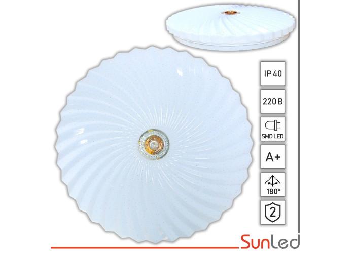 Светильник накладной светодиодный Жемчужина 36Вт SUNLED