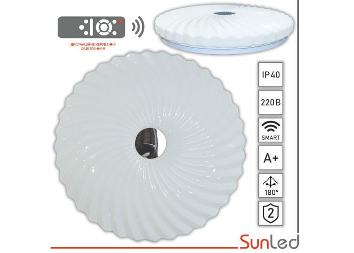 Потолочный светодиодный светильник 50Вт жемчужина зеркало SUNLED
