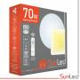 Накладной светодиодный светильник Ракушка 70w Smart