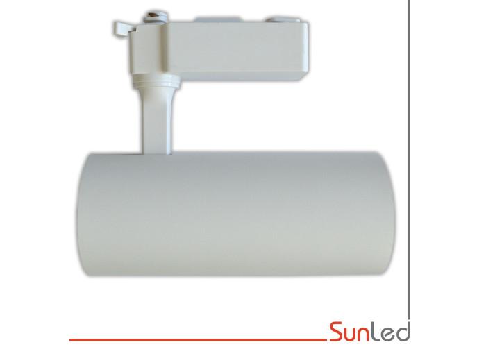Светодиодный трековый светильник LTR1 30Вт белый корпус