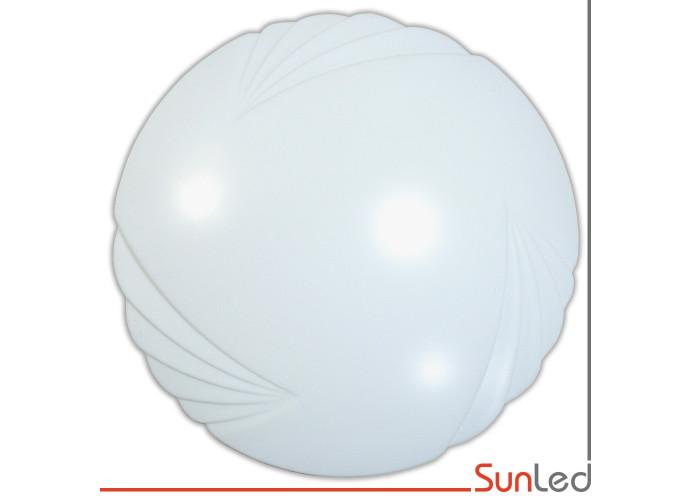 Потолочный светильник для ЖКХ SUNLED 24w светодиодный круглый белый