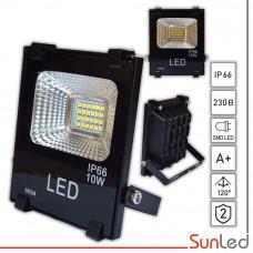Прожектор светодиодный 10W IP65 6500K для улицы SUNLED