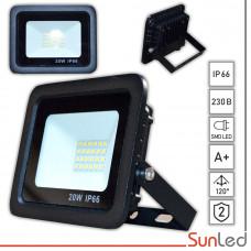 LED уличный прожектор мощностью 20Вт Лайт SMD светодиоды