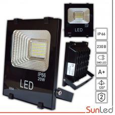 Прожектор светодиодный 20W IP65 5000K для улицы SUNLED