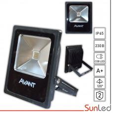 Светодиодный прожектор 30W Avant для фасадной зеленой подсветки COB LED
