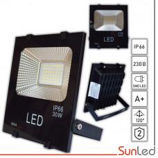Прожектор светодиодный уличный 30Вт 5000K IP65 SUNLED