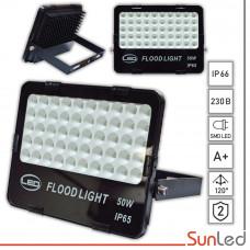 Прожектор светодиодный уличный 50Вт сотовый IP65 светодиоды SMD SUNLED
