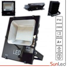 Прожектор светодиодный 100Вт IP65 5000K влагозащищенный SUNLED