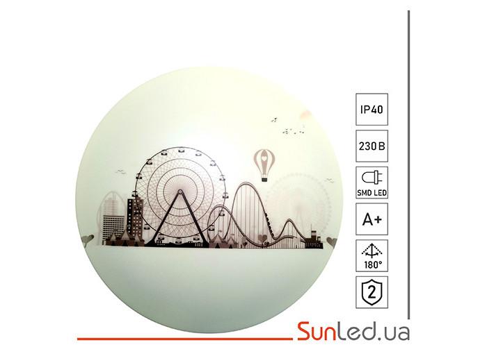 Потолочный накладной светильник SUNLED 24 Вт Колесо обозрения